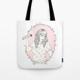 Smart Girl - Kathleen Hanna Tote Bag