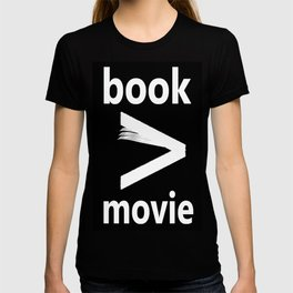 book > movie T-shirt