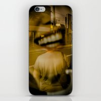 talking heads iPhone & iPod Skins featuring heads by Diogo Andrade