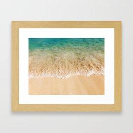 Surf & Sand Framed Art Print
