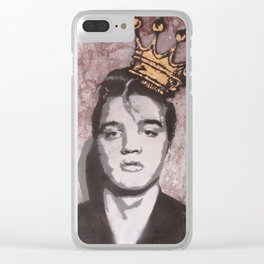 King Elvis Clear iPhone Case