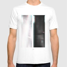 Lights & Speakers (Party Monster) White MEDIUM Mens Fitted Tee