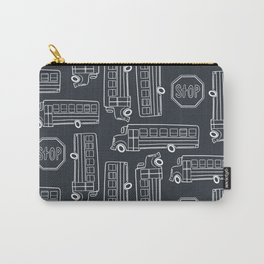Bus Pattern 3 Carry-All Pouch