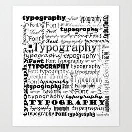 Breakin' da rules Art Print