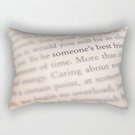 Someone's Best Friend Rectangular Pillow