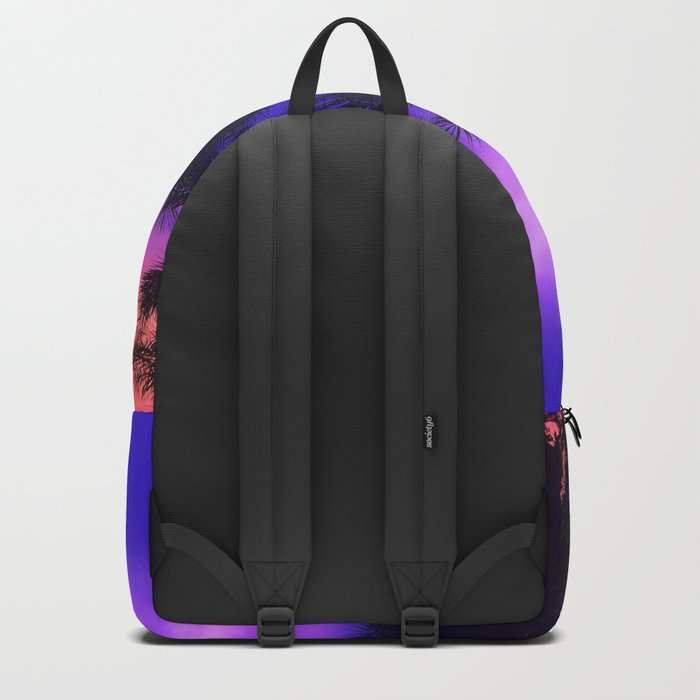 Palm Sunset - 6 Backpack