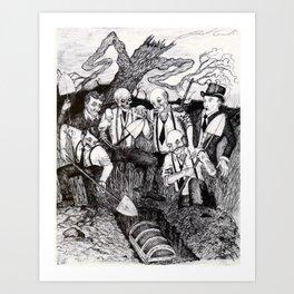 Tragedy of Highbar Harbor Art Print