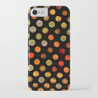 drum iPhone & iPod Cases featuring Fire Drum by M.D. Becker