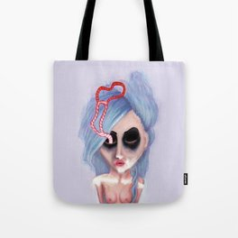 Abstracted Heart Tote Bag