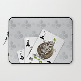 Small but Dangerous / Cards for my arts Laptop Sleeve