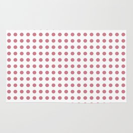 Srawberry Polka Dots Rug