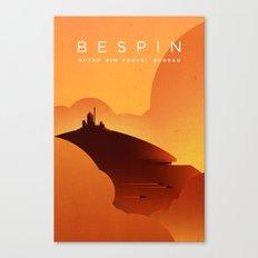 Outer Rim Travel Bureau: Bespin Canvas Print