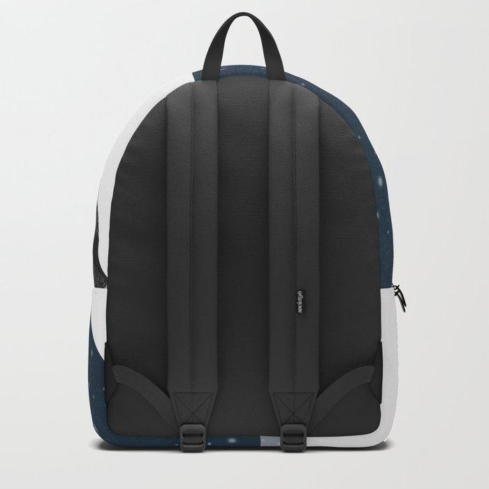 Unique Polar Bear Scene Backpack