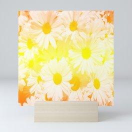 Sunshine Daisies Mini Art Print