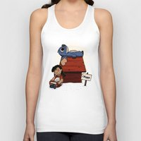 lilo and stitch Tank Tops featuring Lilo & Stitch by le.duc