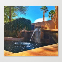 Desert Relaxation Canvas Print