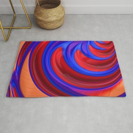 Beautiful Abstract Art by Raphael Terra Rug