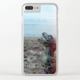 Today we are young Clear iPhone Case