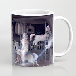 Painting Greys Coffee Mug