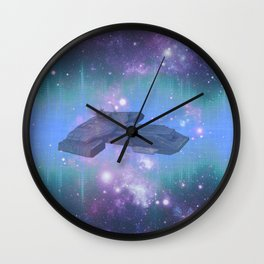 10,000 light years from home Wall Clock