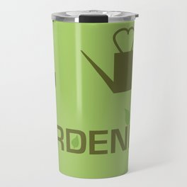 I heart Gardening Travel Mug