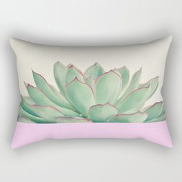 Succulent Dip Rectangular Pillow