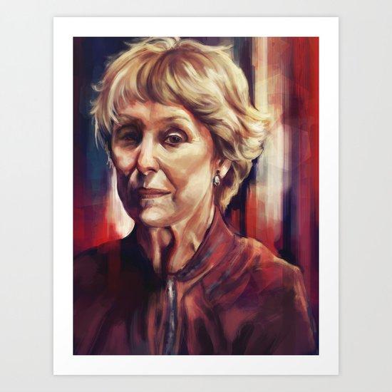 Mrs. Hudson Art Print