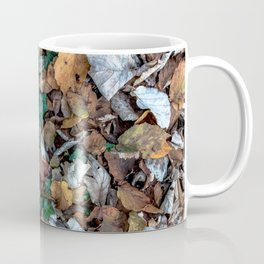 Autumnal leaves bed Coffee Mug