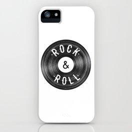 Rock & Roll iPhone Case
