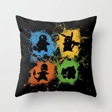 PokeSplach Throw Pillow