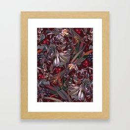 Midnight Garden IX Framed Art Print