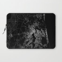 Jacksonville map Laptop Sleeve