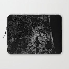 Jacksonville map Laptop Sleeve