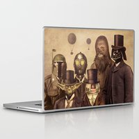 gentleman Laptop & iPad Skins featuring Victorian Wars  by Terry Fan