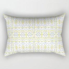 Yellow Batik Rectangular Pillow
