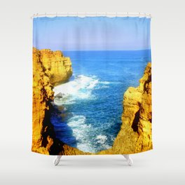 Girt by Sea Shower Curtain