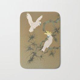 Wild Cockatoos Bath Mat