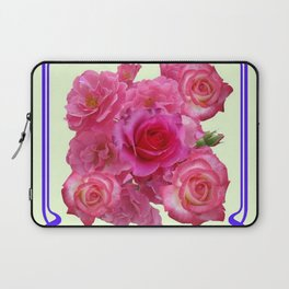 RED & PINK  ART NOUVEAU ROSES Laptop Sleeve