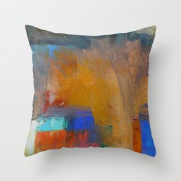 People in India Throw Pillow
