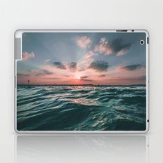 Deep Green Float Laptop & iPad Skin