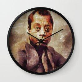 James Baldwin, Literary Legend Wall Clock