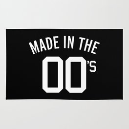 Made In The 00's Quote Rug