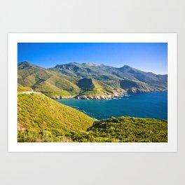 Corse 3.4 Art Print