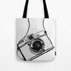 White Moodie Lomo Tote Bag
