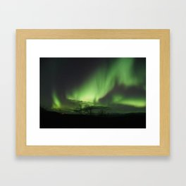 Northern Lights Framed Art Print