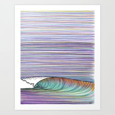 Groundswell Art Print