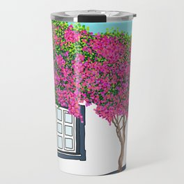 Little house in Portugal Travel Mug
