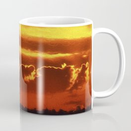 Sunset Layers   Ferntree Gully Coffee Mug