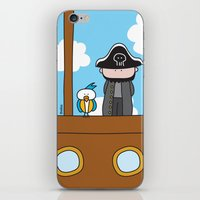 pirates iPhone & iPod Skins featuring Pirates by oekie