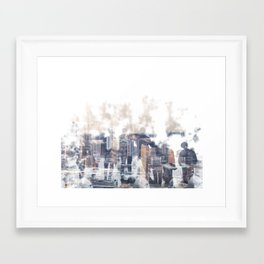 The Most Beautiful moments in life Framed Art Print